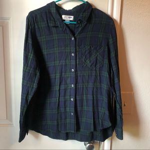 Old Navy Classic Flannel NWOT